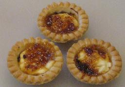 Caramelized Onion, Chevre and Fig Tarts